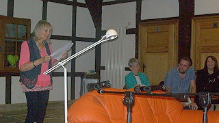 Lesung auf dem Roten Sofa (Schultenhof Mettingen)
